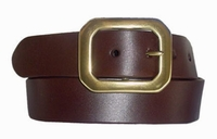 """1395 Casual Leather Belt - 1 1/2"""" wide"""