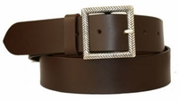 """3576 Casual Leather Belt - 1 1/2"""" wide"""