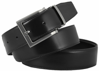 "RS7 Reversible Smooth Genuine Leather Dress Belts - 1 3/8"" wide"