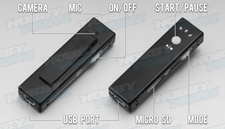 Hidden Covert Camera, Great for First Person View Camera system for RC Planes, Cars, Helicopters