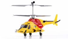 Exceed RC 2.4Ghz WarHawk 300 4-Channel Radio Remote Control RC Helicopter RTF Co-Axial  AirWolf- 100% Ready-to-Fly w/ Lipo Battery (Yellow)
