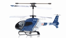 JXD 342 Medium Size 3.5  Channel  helicopter RTF w/ Build in Gyroscope-Blue RC Remote Control Radio