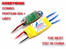 Combo Special! Pentium-30A Brushless ESC + 2A UBEC