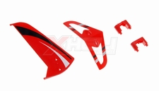 Tail decoration blades (Red 4 Pcs) 29P-711-09-Red
