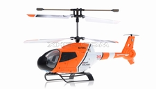 JXD 342 Medium Size 3.5  Channel  helicopter RTF w/ Build in Gyroscope-Orange RC Remote Control Radio