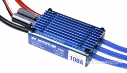 HobbyWing C-Platinum-100A  Brushless ESC for 550/600 RC Heli and Giant Aircraft