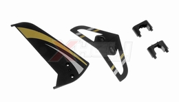 Tail decoration blades (Black 4 Pcs) 29P-711-09-Black