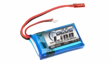 Blue Lipo 2-Cell 1000mAh 7.4v 2S1P 15C RC Battery w/ JST Connector