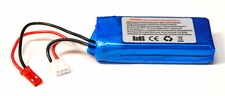 "Blue LiPo 2-Cell 15C 7.4V 1200mAh "" High Performance Lithium Polymer Battery BlueLipo-74v15c1200mAh"
