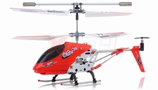 3.5-CH Dynam Vortex M100 Infrared  Micro Helicopter Ready-to-Fly w/Gyro (Red) RC Remote Control Radio