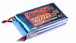 Gens ace LIPO 1000mAh 25C 11.1V lipo battery pack