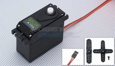 Solar Servo A104 Analog 115g 0.16@6.0v w/ Bonus Servo Case, Gear & Horns while supplies last