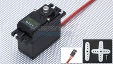 Solar Servo D771 Digital High Voltage .08sec@7.4v 64g Metal Gear  High Speed Servo