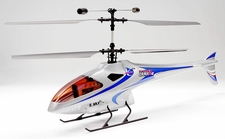 4-CH Esky Lama V4 Electric Co-Axial    Helicopter (2.4G-Silver-Ready-to-Fly) RC Remote Control Radio