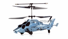 4 Channel HM0960 Futuristic Indoor Remote Control Helicopter w/ Built in Gyro HM0960-Heli-Blue