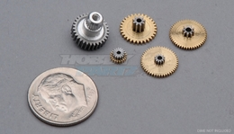 Servo Gear Set for D654 D117F