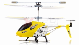 3.5-CH Dynam Vortex M100 Infrared  Micro Helicopter Ready-to-Fly w/Gyro (Yellow) RC Remote Control Radio