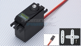 Solar Servo D224 0.17@6.0v Digital Metal Gear 50g
