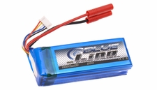 Blue LiPo 4-Cell 2200mAh 4S1P 14.8v 20C LiPoly Battery w/ 4.0 Banana Connector