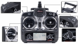 Exceed RC 2.4Ghz 6 Channel Radio Control Spread Spectrum Transmitter w/ LCD Monitor Replacement for Exceed RC Helicopters ExceedRC-24Ghz-6CH-TX-LCD-2602