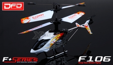 F106 4CH Infared  Helicopter NEW with Gyro   Mini Size (White) RC Remote Control Radio