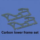 Carbon lower frame set HM-F450-Z-31