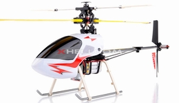 2.4 Walkera H22E 6 Channel Remote Control RC Helicopter w/ Lipo Battery w/ LCD Transmitter