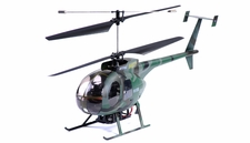 New 2.4Ghz Art-Tech Hughes MD500 Co-Axial RC Helicopter RTF AT-11044-MD500-24Ghz-GreenHeli