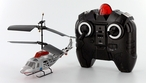 The New 3 Channel Indoor Dolphin Silver Version Radio Controlled RC Helicopter