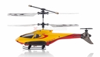 S100 Syma 3 Channel Mini Co-Axial Helicopter w/ LED Lights (Yellow)