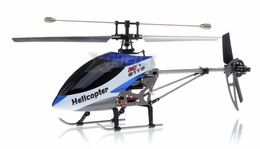 Double Horse 9116  Helicopter 4 Channel 2.4Ghz RTF with Gyro + Flashing Head and Tail LED Lights + LED Transmitter RC Remote Control Radio