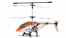 3 Channel Golden Scorpion Aluminum RC Electric Helicopter RTF Built in GyroScope�w/ Flashing LED Night Lights
