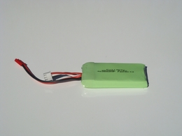 7.4V 850mAh LITHIUM POLYMER BATTERY 67P-Part-9088-22