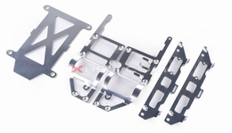 Main frame decorated plates 67p-9051-13