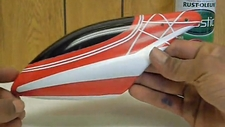 Paint your own 450-RC Helicopter Canopy!!!