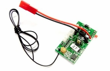 PCB 27mhz    (Compatible with Toysrus Fast Lane 3.5CH RC Jaw Breaker Helicopter) 56P-s032-19-27mhz