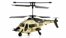 JXD Gyro 3 Channel  Helicopter Skywolf 338 (Desert) RC Remote Control Radio