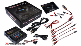 Sky Charger B6AC 6-in-1 Dual RC Battery Charger for 1-6 Cell Li-ion, LiPo and LiFe Batteries + USB Charging/Monitor PC Software B6AC-SkyCharger