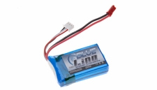 Blue Lipo 2-Cell 800mAh 7.4v 2S1P 20C RC Battery