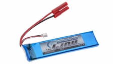 Blue Lipo 2-Cell 1500mAh 7.4v 2S1P 20C RC Battery