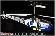 4-Channel ExeedRC Lama G5 Co-Axial Radio Remote Controlled RC Helicopter RTF 50H07_LamaG5Blue