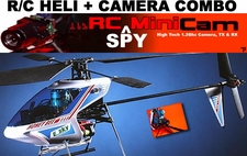 Heli+Cam 4-Channel Esky Honey Bee V3 LiPO RC Helicopter with Wireless Micro Camera , Brand New!!! Combo_ESKY004LA_-_Cam24Ghz