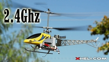 2.4Ghz Exceed-RC Blazing Star CX [Metal] 4 Channel Counter-Rotating Remote Control Helicopter RTF w/ Aluminum & Metal Upgrades!