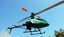 6-Channel Brushless/Lipo Revolution 450 3D Radio Remote Controlled RC Electric Helicopter 62H80_Revolution450Green