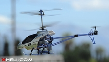 3 Channel RTF Ready to Fly Electric RC Helicopter w/ Built in Gyroscope (Silver)