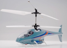 Brand New Shark 2 Channel Remote Control Co-Axial Helicopter RTF