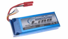 Blue Lipo 4-Cell 5000mAh 14.8v 4S1P 20C RC Battery