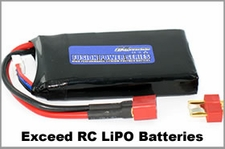 "Exceed RC ""Fusion Power"" LiPo Batteries"