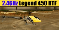 Exceed RC 2.4GHz LEGEND 450-SE RTF 3D Helicopter