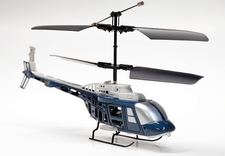 Mini 3 Channel Indoor JetRanger Helicopter w/ LED Lights